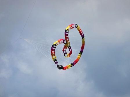 リング回転凧
