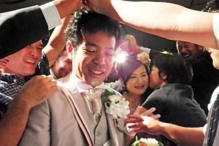 花道とMさんのキス
