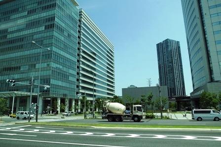 豊洲ビル街