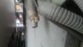 富士通製エアコン水漏れ修理ドレン確認