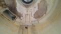 中川区 東芝製ドラム洗濯機内部