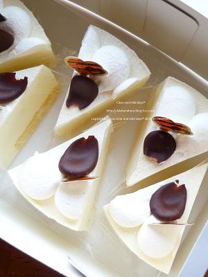 レアチーズケーキとデコプリン♪