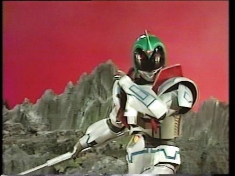 グランテクターを身に纏い、ジュダと戦うアンドロメロス