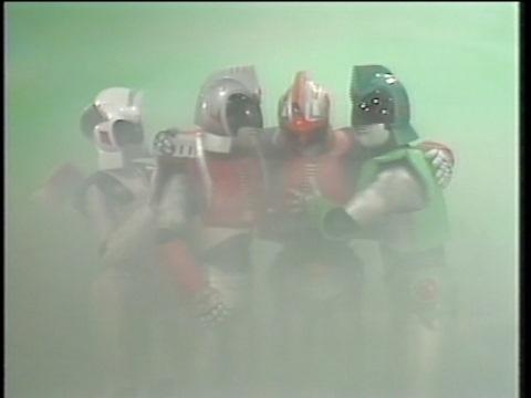 惑星エープにたどり着いたアンドロ4戦士