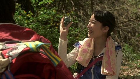 ヒカル・千草ペアが最初に見つけたのはハンザギラン(SD)