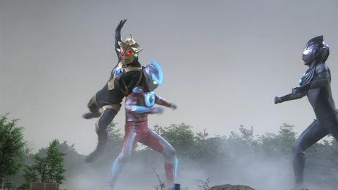 ウルトラマンギンガ VS ティガダーク(SD)&バルキー星人(SD)