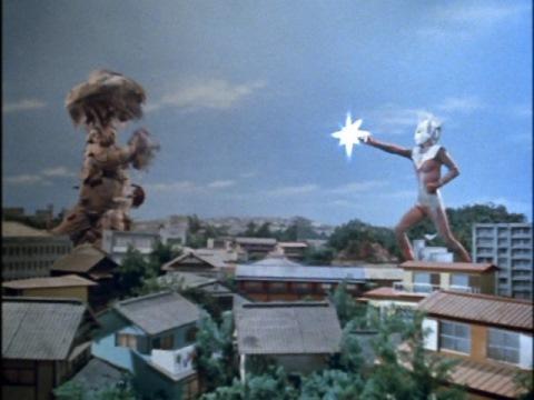 キングブレスレットのドライヤー光線でマシュラを撃破