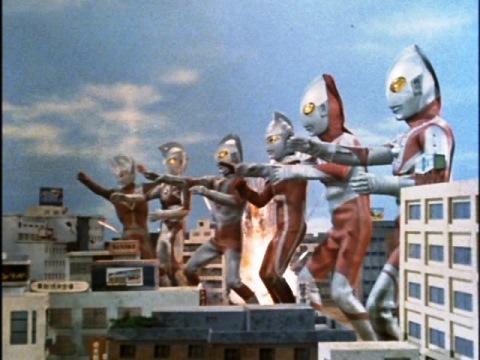 ウルトラ6兄弟そろい踏み