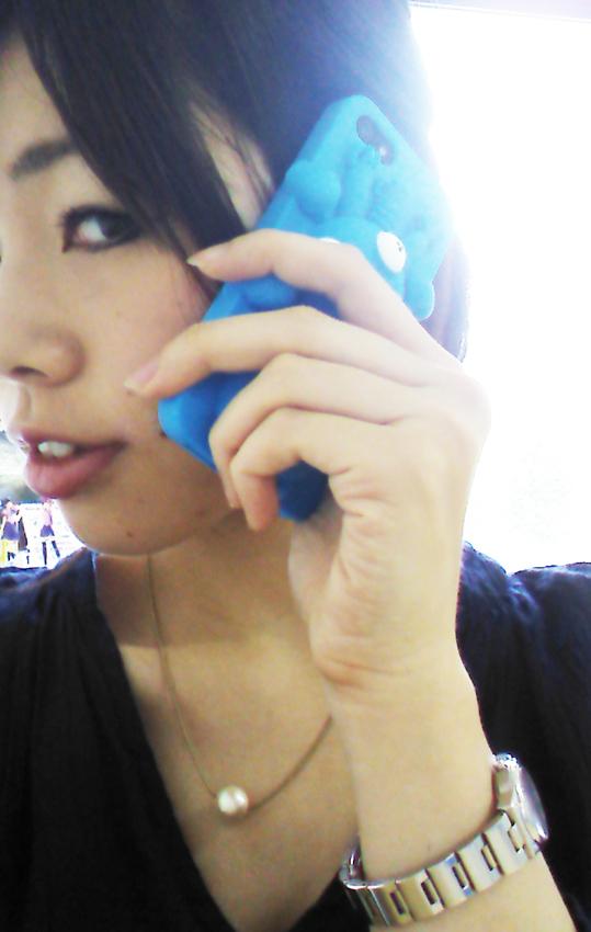 タチコマiPhone持ちのコピー