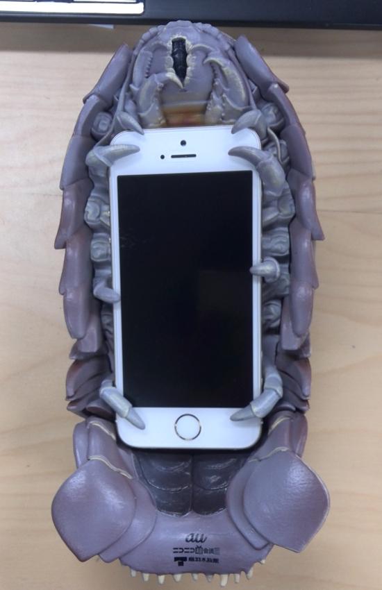 グソクムシiPhone