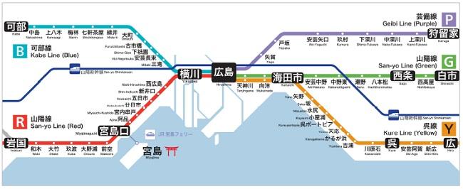JR山陽新幹線の路線図 - NAVITIME