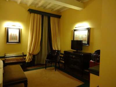 サンタ・マリア・ノヴェッラホテルのリビング