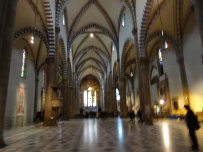 サンタ・マリア・ノヴェッラ教会内部