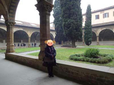 サンタ・マリア・ノヴェッラ教会の回廊