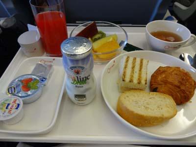 アリタリア機内食