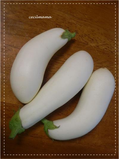 白いなすび