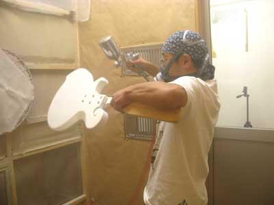 エレキベース塗装方法-08