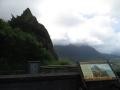 ヌウアヌパリ展望台から眺望