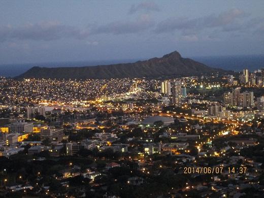 タンタラスの夜景