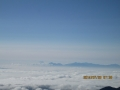 富士山方面の雲海