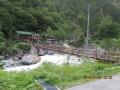 深山荘つり橋