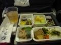 帰路の機内夕食