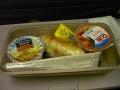帰路の機内朝食
