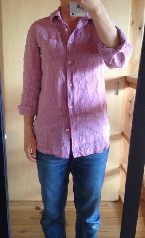 リネンナチュールシャツ3
