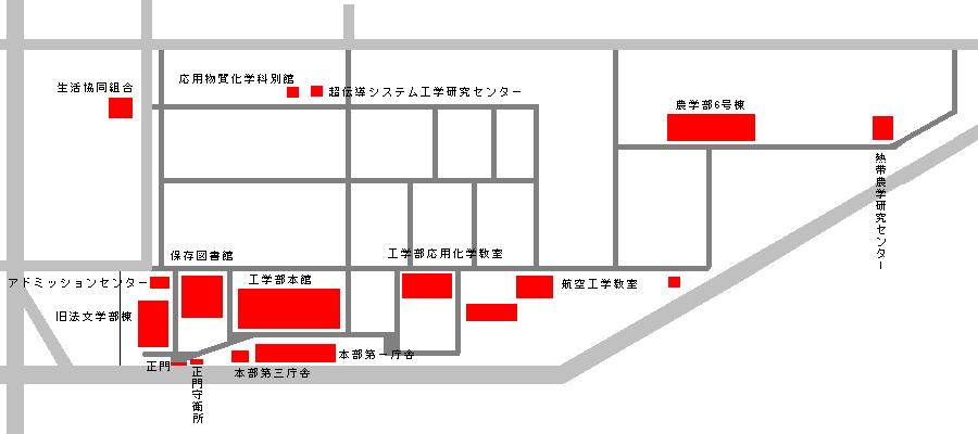 九大箱崎地区歴史的建造物地図地区