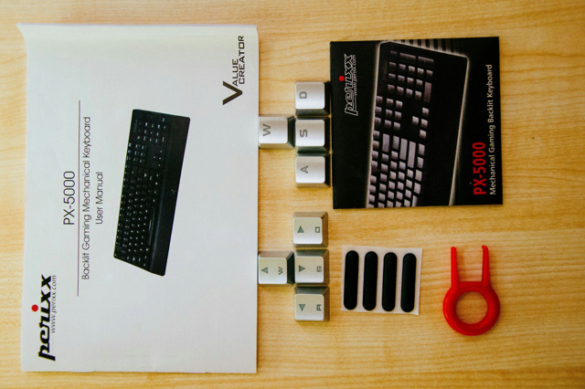 Perixxのゲーミング・メカニカルキーボード『PX-5000』