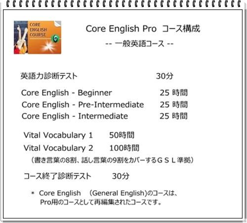 vital core pro コース構成 2