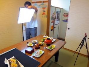 012料理の撮影