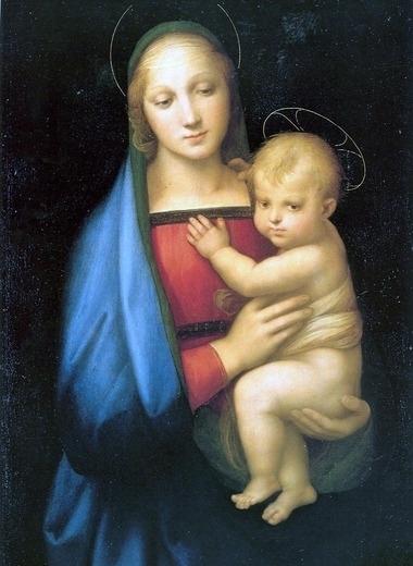 ラファエロ-聖母子