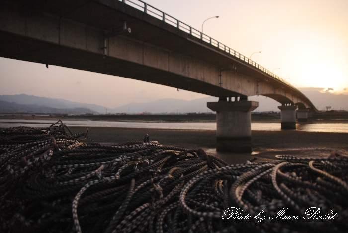 ロープ 愛媛県西条市禎瑞 新中山川大橋