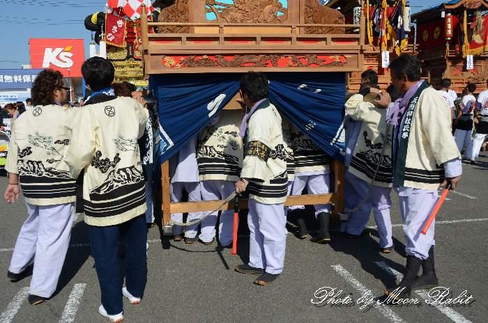 廣江だんじり(広江屋台) 祭り装束 東予祭り2013