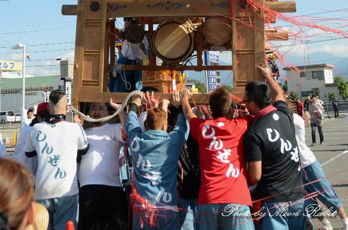 親善会屋台(だんじり) 祭り装束 東予祭り2013