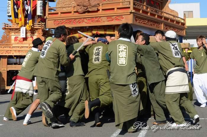 北條西だんじり(北条西屋台) 祭り装束 東予祭り2013