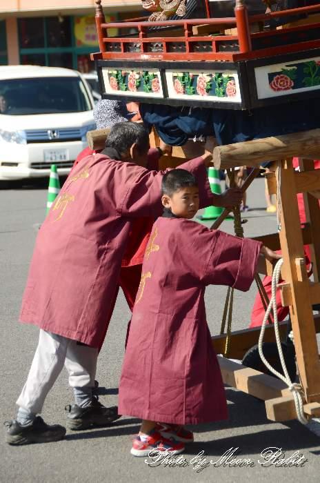 パルティ・フジ東予店駐車場かきくらべ 本町だんじり(屋台) 東予祭り2013