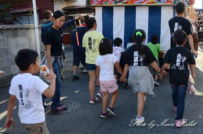 魚屋町だんじり(屋台) 祭り装束 西条祭り2013 伊曽乃神社祭礼