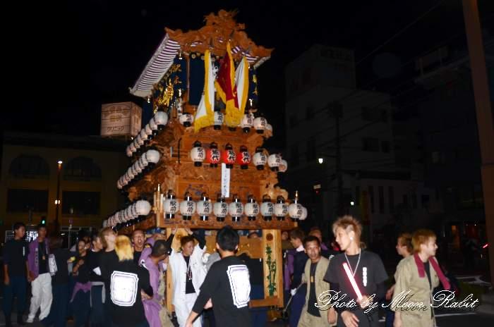 駅本だんじり(駅前本通屋台) 西条駅前 西条祭り2013 愛媛県西条市