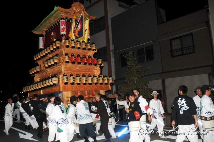 清水町だんじり(屋台) 西条駅前 西条祭り2013 愛媛県西条市大町 ...