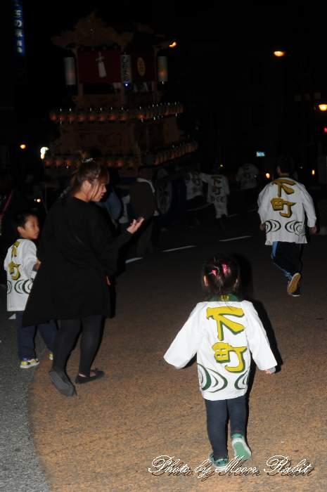 下町中組だんじり(屋台) 祭り装束 西条祭り2013 伊曽乃神社祭礼