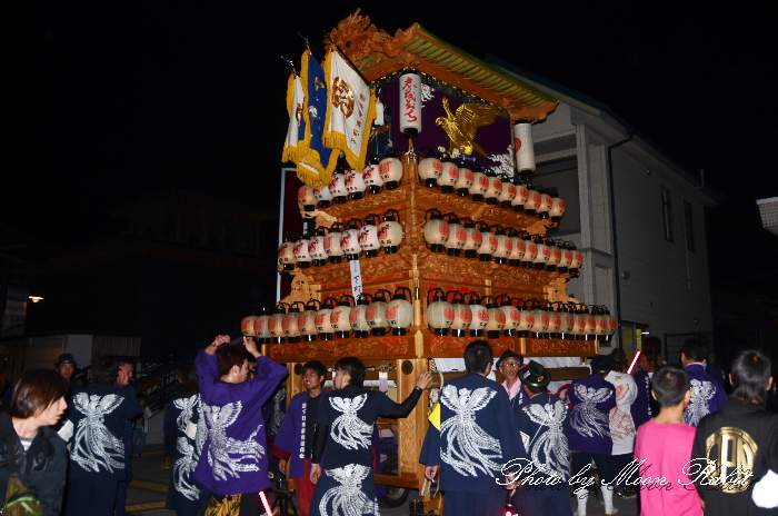 下町南屋台(だんじり) 祭り装束 西条祭り2013 伊曽乃神社祭礼