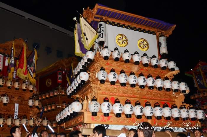 上小川だんじり(屋台) 西条駅前 西条祭り2013 愛媛県西条市