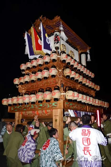 西の川原だんじり(西之川原屋台) 福武祭り(加茂神社祭礼) 西条祭り2013