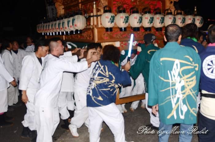 福武祭り(加茂神社祭礼) 沢屋台(澤だんじり) 愛媛県西条市 西条祭り2013