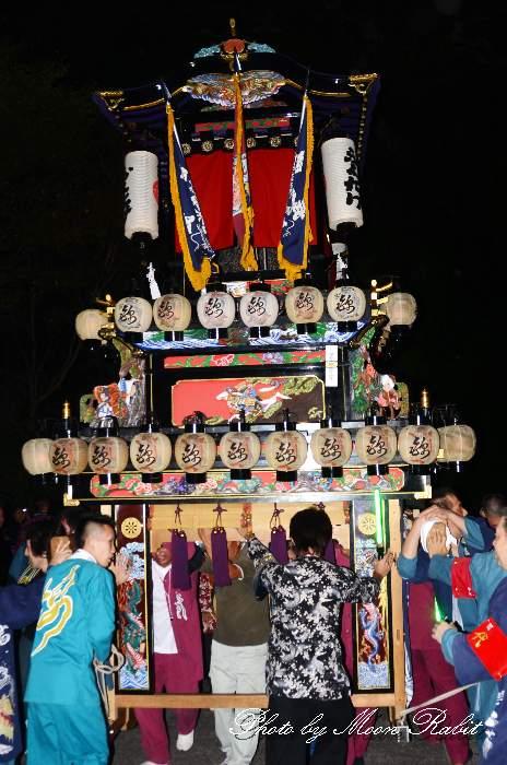 加茂神社祭り(福武祭り) 錦町屋台(だんじり) 愛媛県西条市福武 西条祭り2013