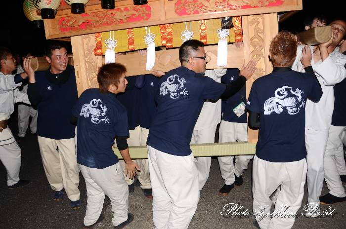 若葉町だんじり(屋台) 祭り装束 西条祭り2013 伊曽乃神社祭礼