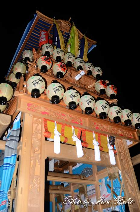 加茂神社祭り(福武祭り) 若葉町屋台(だんじり) 愛媛県西条市福武 西条祭り2013