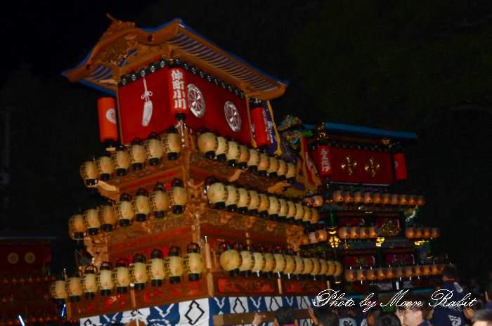 仲町小川屋台(だんじり) 加茂神社祭り(福武祭り) 西条祭り2013